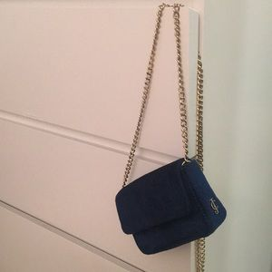 Juicy Couture Navy Velvet Crossbody